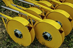 Agricultural equipment. Details 16 Stock Photos