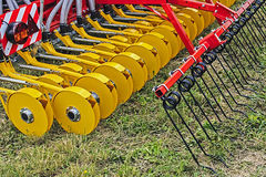 Agricultural equipment. Detail 7 stock photography