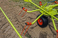 Agricultural equipment. Detail 8 royalty free stock photo
