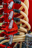 Agricultural equipment. Detail 113 Royalty Free Stock Image
