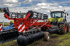 Agricultural equipment. Detail 122 Royalty Free Stock Images