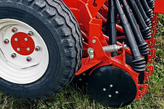 Agricultural equipment. Detail 132 Royalty Free Stock Image