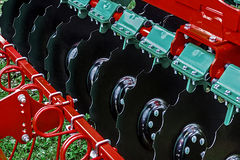 Agricultural equipment. Detail 161 Royalty Free Stock Images