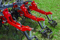 Agricultural equipment. Detail 165 stock photo