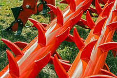 Agricultural equipment. Detail 15 Stock Photo