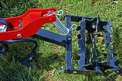 Agricultural equipment. Detail 138 Stock Image