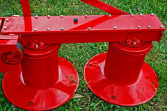 Agricultural equipment. Detail 135 Royalty Free Stock Images