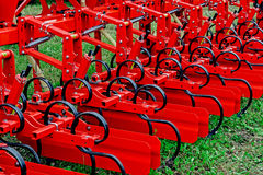 Agricultural equipment. Detail 176 Royalty Free Stock Photo