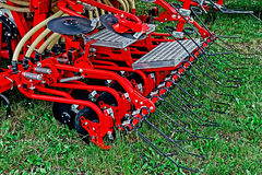 Agricultural equipment. Detail 191 Stock Image