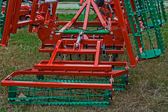 Agricultural equipment. Detail 195 Royalty Free Stock Image