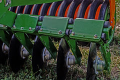 Agricultural equipment. Details 63 Royalty Free Stock Photography