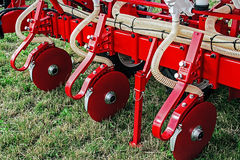 Agricultural equipment.Details 79 Stock Image