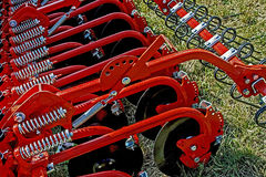 Agricultural equipment. Details 28 Royalty Free Stock Photography