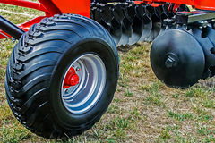 Agricultural equipment. Details 25 Stock Photo