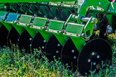 Agricultural equipment. Details 30 Stock Image