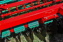 Agricultural equipment. Details 40 Stock Photo