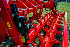 Agricultural equipment. Details 39 Stock Image