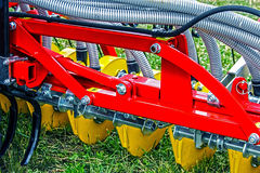 Agricultural equipment.Details 86 Stock Image