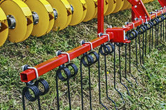 Agricultural equipment. Details 31 stock photo