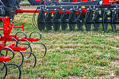 Agricultural equipment.Details 89 Stock Photography