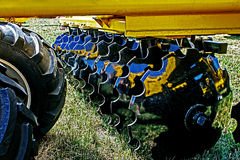 Agricultural equipment.Details 92 Royalty Free Stock Photography