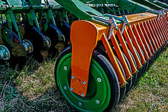 Agricultural equipment. Details 70 Royalty Free Stock Images
