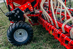 Agricultural equipment. Details 52 Royalty Free Stock Photo