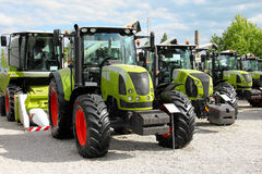 Agricultural equipment on display Royalty Free Stock Photography
