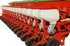 Agricultural equipment for fertilizer earth Royalty Free Stock Image