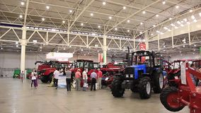 Agricultural exhibition Stock Photos