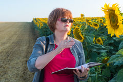 Agricultural expert Stock Photo