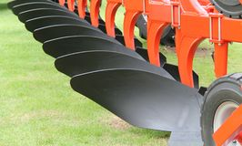Agricultural Farm Plough. Royalty Free Stock Photography