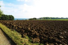 Agricultural fields, Amsterdam surroundings, Holand Royalty Free Stock Photo