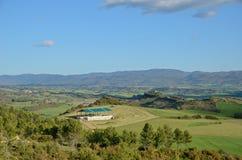 Spring view of the Spanish region Navarra Royalty Free Stock Image