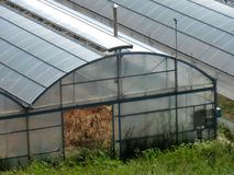 Agricultural greenhouse Stock Images