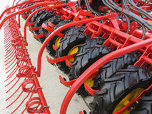Free Agricultural Harrow Machine Royalty Free Stock Photography - 81156667