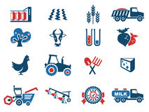 Agricultural icon. Simply symbol for web icons Stock Image