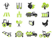 Agricultural icon Stock Photos