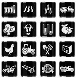 Agricultural icon Stock Photo