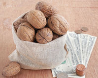 Agricultural Income from Walnut Stock Photography