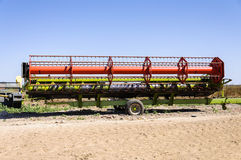 Agricultural irrigation auto machinery Stock Image