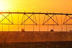 Agricultural Irrigation Sprinkler Stock Image