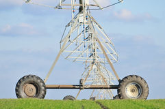 Agricultural Irrigation Sprinkler Royalty Free Stock Images