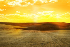 Agricultural land Stock Image
