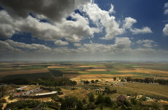 Agricultural landscape. In southern Spain royalty free stock image