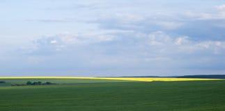 Agricultural landscape in Podolia region of Ukraine Royalty Free Stock Images