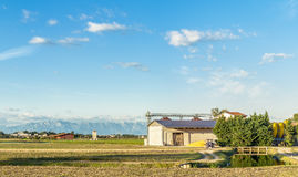 Agricultural landscape. Royalty Free Stock Photography