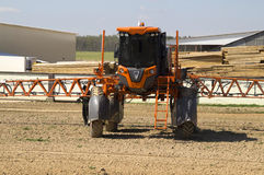 Agricultural machine for liquid fertilizer Stock Photos