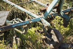 Agricultural machine Royalty Free Stock Image
