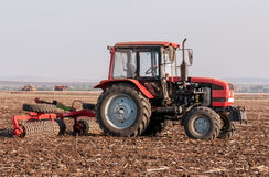 Agricultural machinery. Used for cultivation stock image